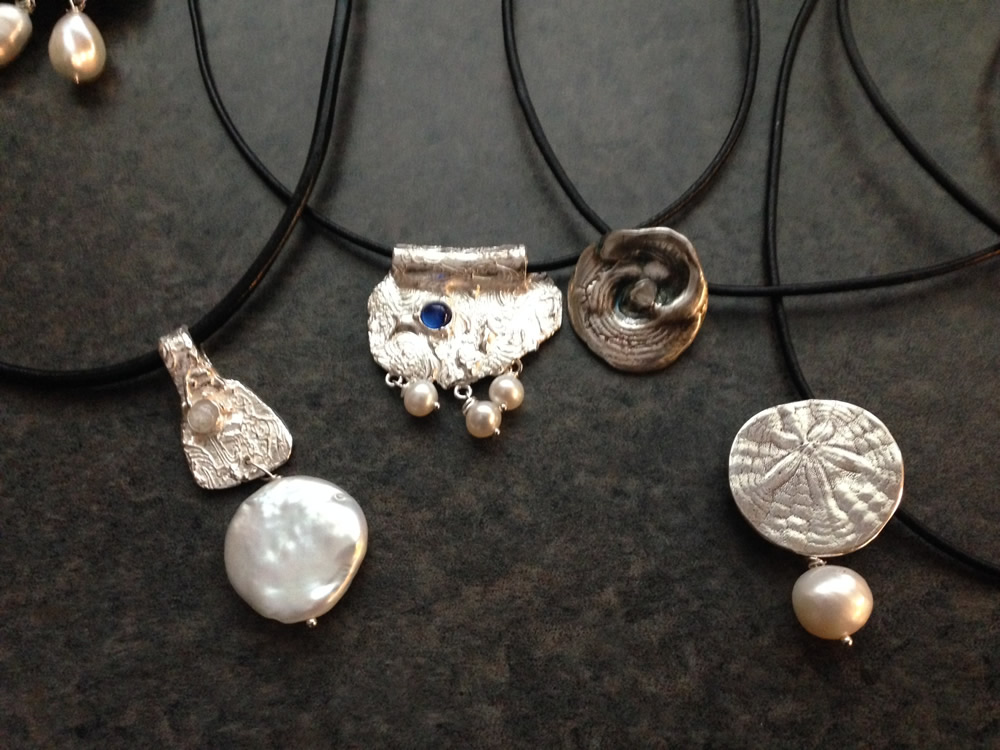 Assorted Fine Silver Pendants 2